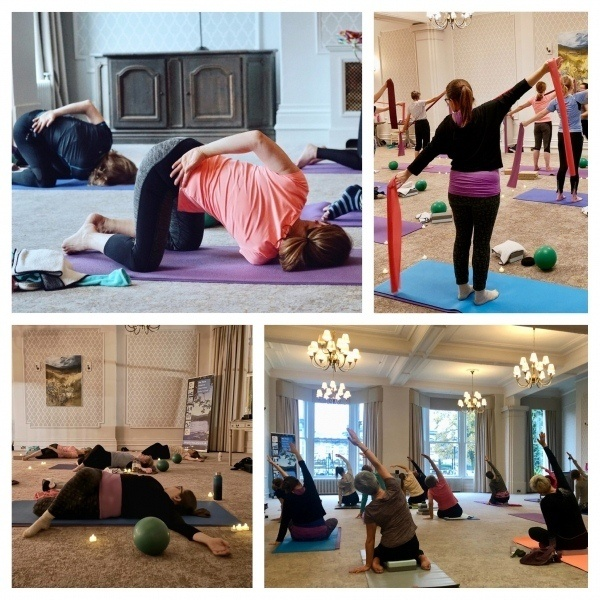 Stretch, Pilates & yoga classes