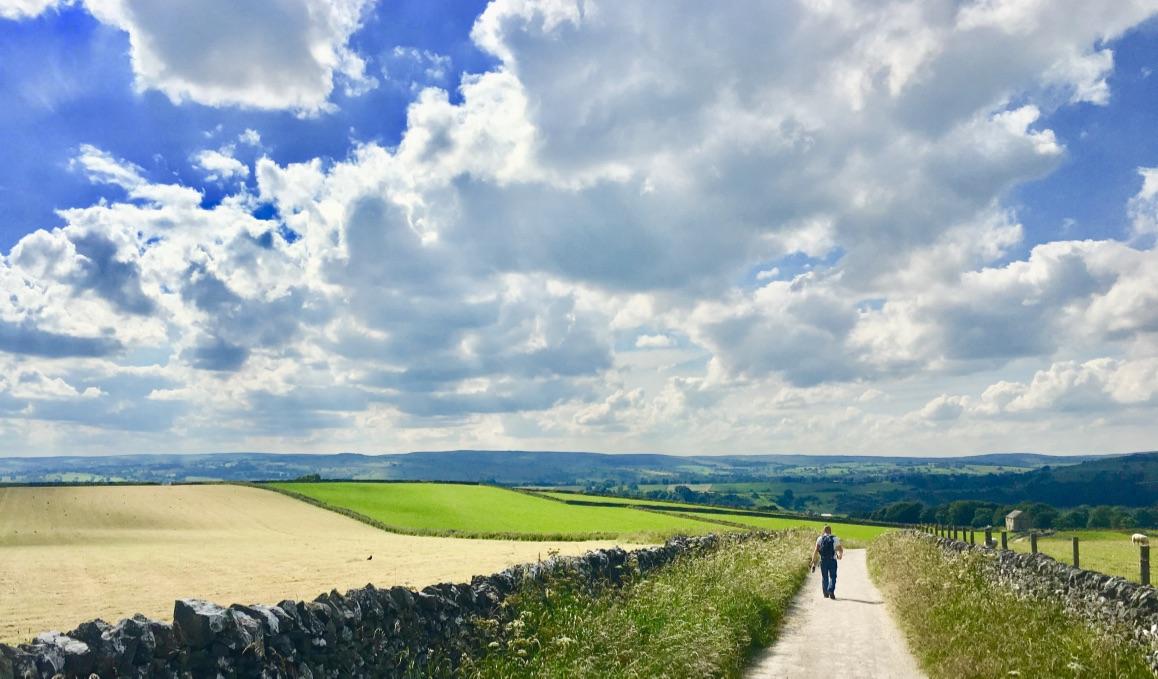 Lovely walks in & around Hartington, Derbyshire