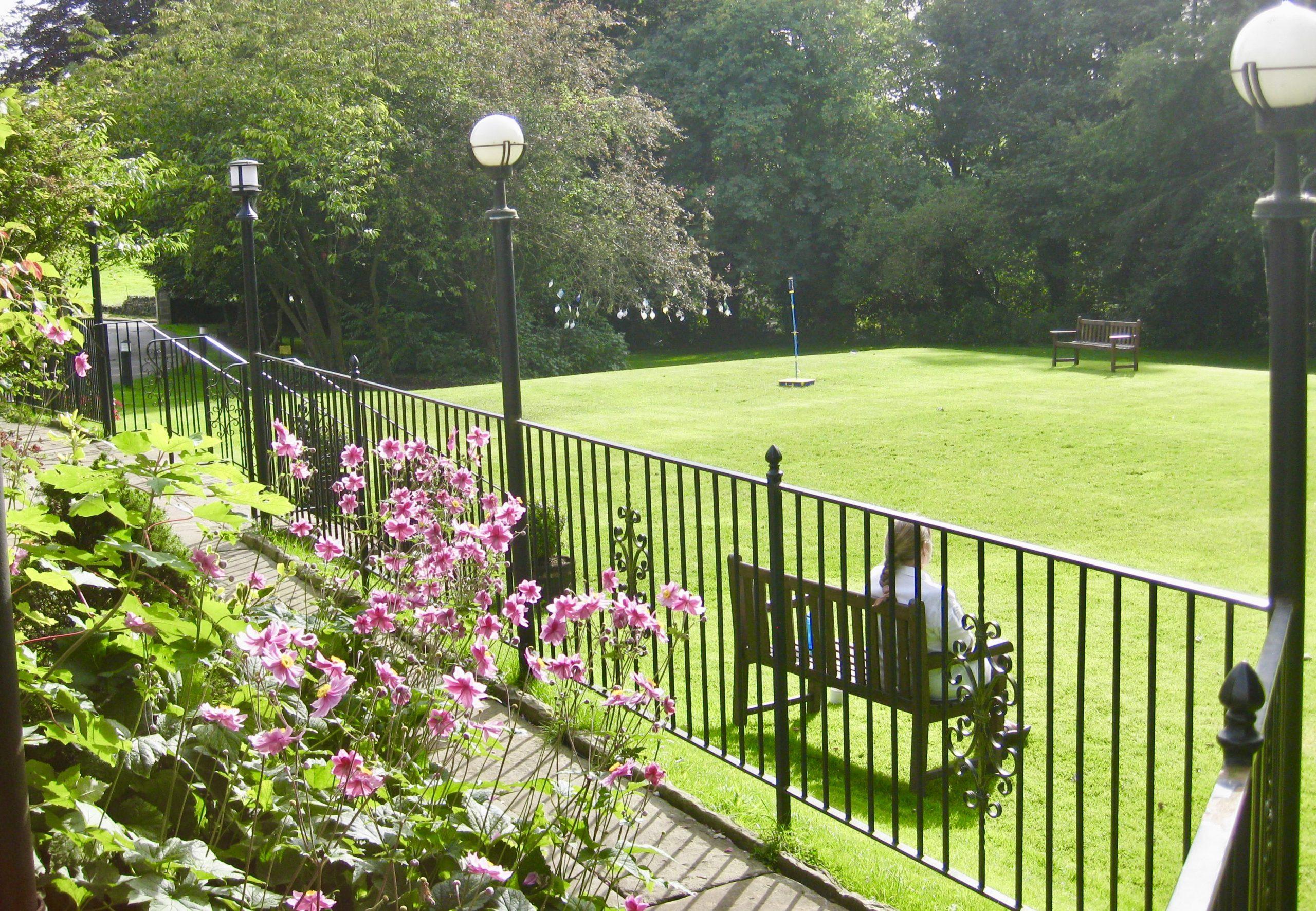 Grounds at Hartington Hall