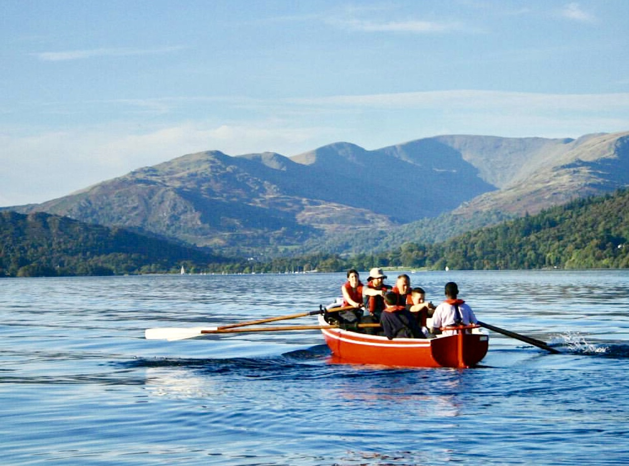 A whaling boat (Courtesy of Brathay Trust)