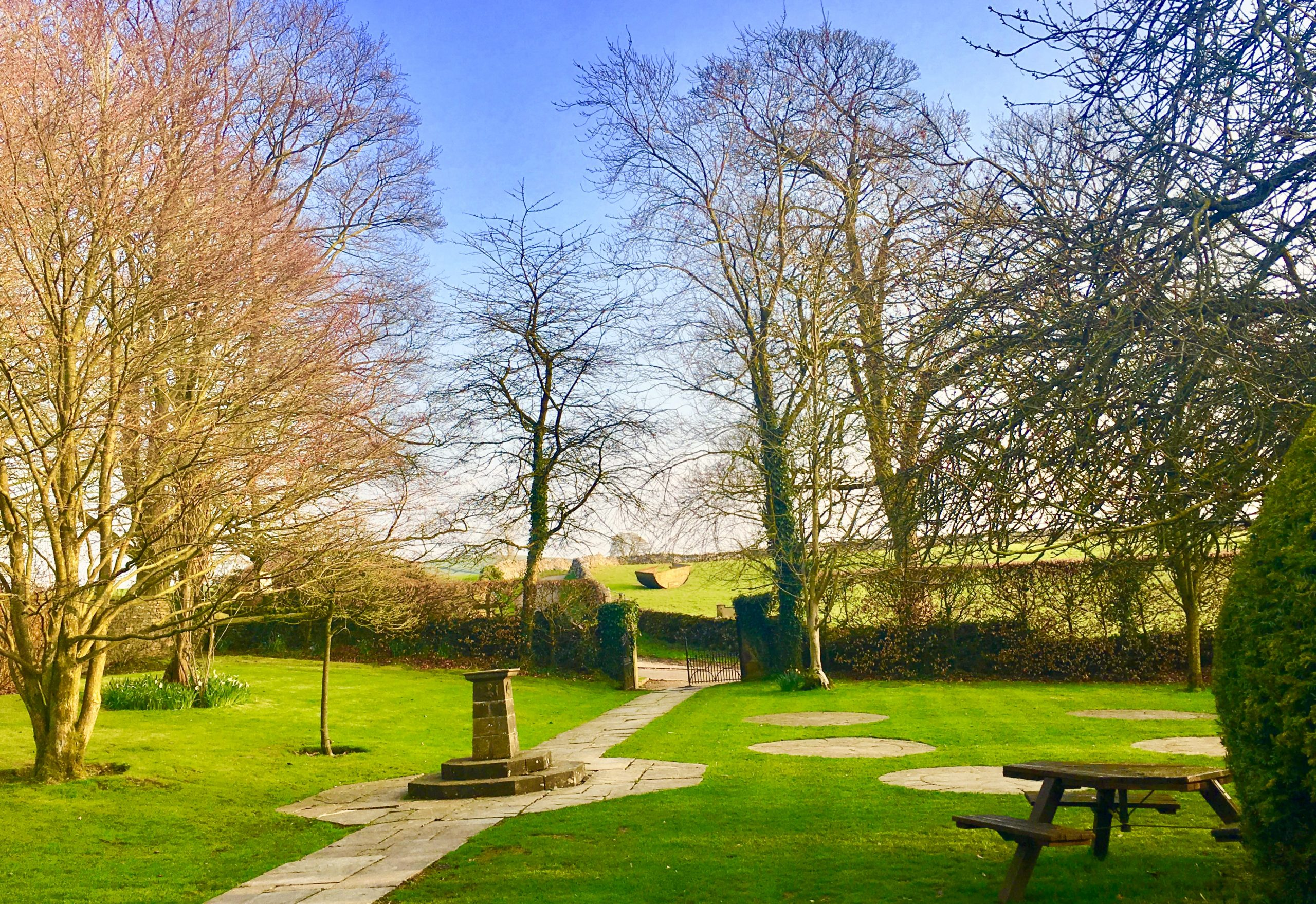 View from Hartington Hall