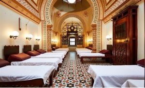 Mosaics at the Turkish Baths