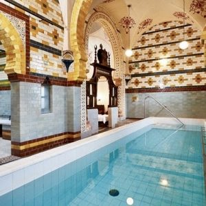 Pool at Turkish Baths